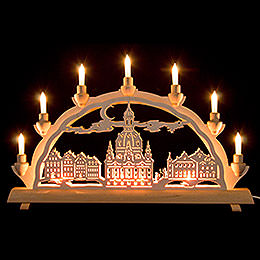 3D Double Arch  -  Dresden's Church of Our Lady  -  50x32cm / 20x12.6 inch