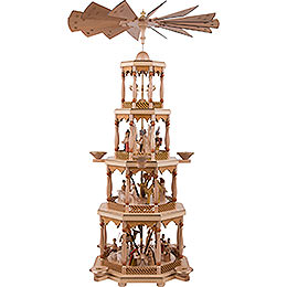 4 - Tier Pyramid  -  Nativity Scene  -  94 Cm/37 inch