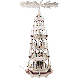 6 - Tier Pyramid  -  Silent Night  -  106cm / 42 inch