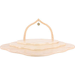 Angel Cloud with Three Levels, Natural with Arch  -  46x30x20cm / 7.9 inch