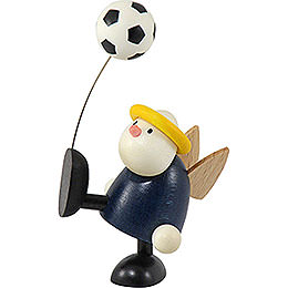 Angel Hans with Football Balancing  -  7cm / 2.8 inch