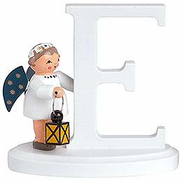"""Angel Letter """"E""""  -  7cm / 2.8 inch"""