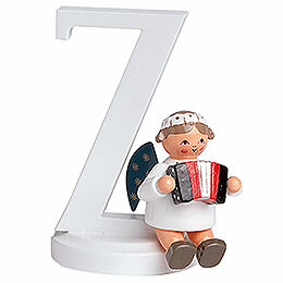"Angel Letter ""Z""  -  7cm / 2.8 inch"