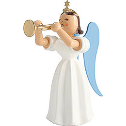 Angel Long Pleated Skirt with Trumpet, Colored  -  6,6cm / 2.6 inch