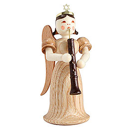 Angel Long Skirt with Oboe, Natural  -  6,6cm / 2.6 inch