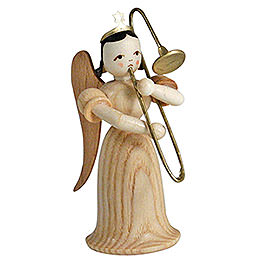 Angel Long Skirt with Sliding Trombone, Natural  -  6,6cm / 2.5 inch