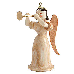 Angel Long Skirt with Trumpet, Natural  -  6,6cm / 2.6 inch