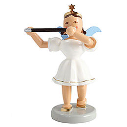 Angel Short Skirt Colored, Transverse Flute  -  6,6cm / 2.6 inch