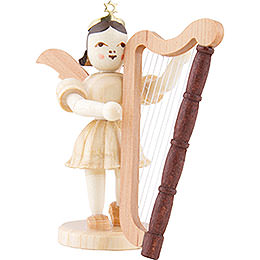 Angel Short Skirt Harp, Natural  -  6,6cm / 2.6 inch