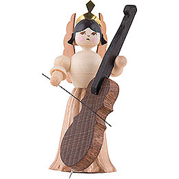 Angel with Bass  -  7cm / 2.8 inch