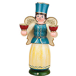 Angel with Candles  -  22cm / 8,7 inch