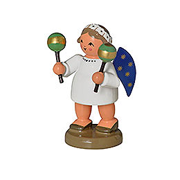 Angel with Maracas  -  5cm / 0,8 inch