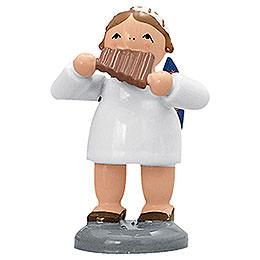 Angel with Pan Flute  -  5cm / 2 inch