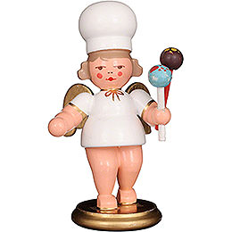 Baker Angel with Cake - Pops  -  7,5cm / 3 inch