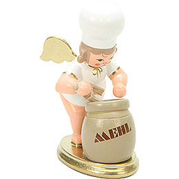 Baker Angel with Flour Sack  -  7,5cm / 3 inch