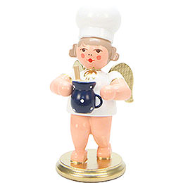 Baker Angel with Milk Pot  -  7,5cm / 3 inch