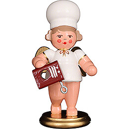 Baker Angel with Mixer  -  7,5cm / 3 inch