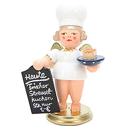 Baker Angel with Streusel Cake  -  7,5cm / 3 inch