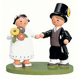 Bridal Couple  -  7cm / 2.8 inch