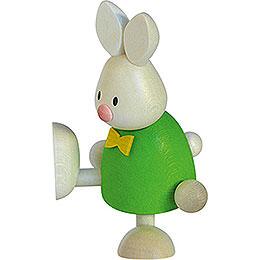 Bunny Max on One Leg  -  9cm / 3.5 inch