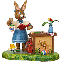 Bunny School Miss Teacher  -  9cm / 3.5 inch