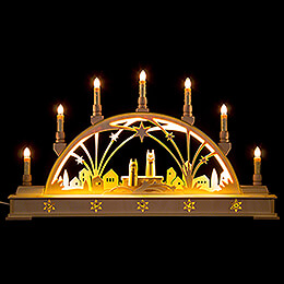 Candle Arch  -  Angels  -  with Base  -  63x35cm / 24.8x13.8 inch