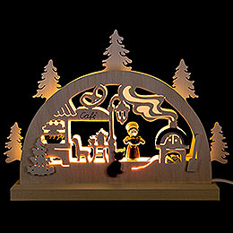 Candle Arch  -  Bakery  -  23x15cm / 9.1x5.9 inch