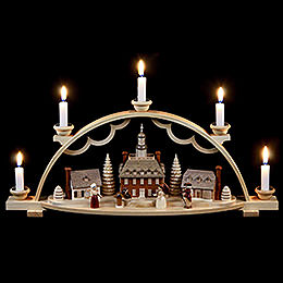 Candle Arch  -  Colonial Village  -  47x11x20cm / 19x4x8 inch
