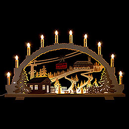 Candle Arch  -  Fichtelberg  -  70x42cm / 27.6x16.5 inch