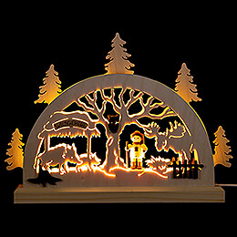 Candle Arch  -  Game Preserve  -  23x15cm / 9.1x5.9 inch