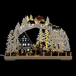 Candle Arch  -  Half Timber House Dreams  -  43x30cm / 17x11.8 inch