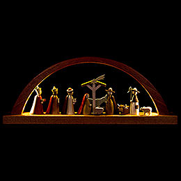 Candle Arch  -  Nativity  -  40x16cm / 15.7x6.3 inch
