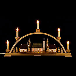 Candle Arch  -  Schneeberger Church  -  52x30x14cm / 20.4x11.8x5.5 inch