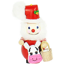 """Christbaumschmuck Weihnachtsmann  -  """"Eight Maids A - Milking""""  -  9cm"""