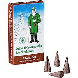 Crottendorfer Incense Cones  -  Scent of Advent