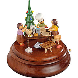 Electronic Music Box  -  Christmas Bakery  -  Rolf Zuckowski Edition  -  19cm / 7.5 inch