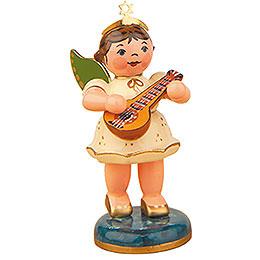 Engel mit Mandoline  -  6,5cm