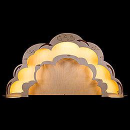 Engelhaus Erweiterung mit LED - Beleuchtung  -  90x45cm