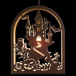 Fensterbild Halloween  -  27cm