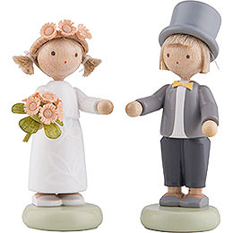 Flax Haired Children Kid's Wedding  -  5cm / 2 inch