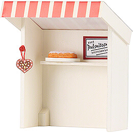 Flax Haired Children Stall Gingerbread Shop  -  8cm / 3.1 inch