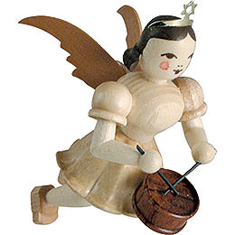 Floating Angel Drum, Natural  -  6,6cm / 2.6 inch