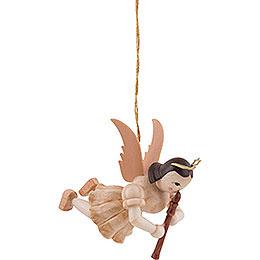 Floating Angel Flute, Natural  -  6,6cm / 2.6 inch