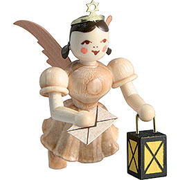 Floating Angel Guardian Angel , Natural  -  6,6cm / 2.6 inch