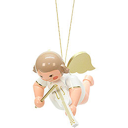 Floating Angel with Violin  -  18cm / 7.1 inch