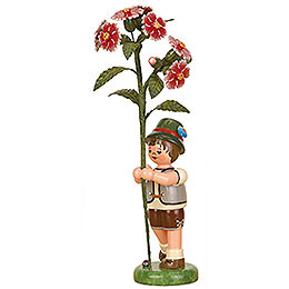 Flower Child Boy with Ragged Pink  -  17cm / 7 inch