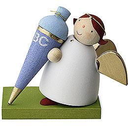 Guardian Angel with School Cone  -  Boy  -  3,5cm / 1.3 inch