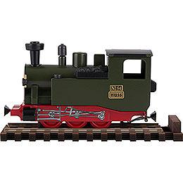 HUSS I K Duft - Dampflok grün  -  10,5cm