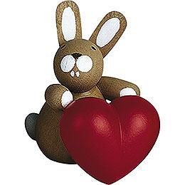 Häschen mit Herz  -  3cm