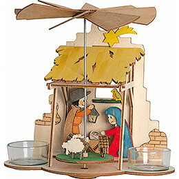 Handicraft Set  -  1 - Tier Wall Pyramid  -  Nativity  -  18cm / 7.1 inch